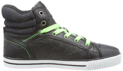 Lico Freak Winter 180276 Jungen Sneaker Schwarz (schwarz/gruen)