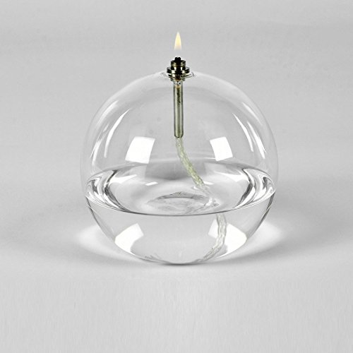 Peri GLASS - 1242 Lampe à huile ronde en verre MM 11 cm