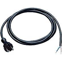 Anschlussleitung H07RN-F 2x1mm2 Länge 5m mit Konturenstecker schwarz