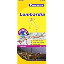 Lombardia Michelin Local Map 353 (Michelin Regional Maps)