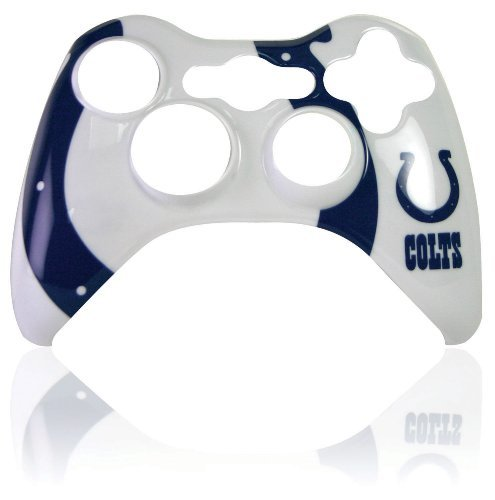 Xbox 360 Official NFL Indianapolis Colts Controller Faceplate by Mad Catz