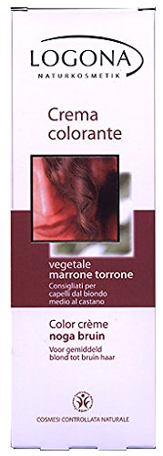 Crema colorante vegetale marrone torrone logona