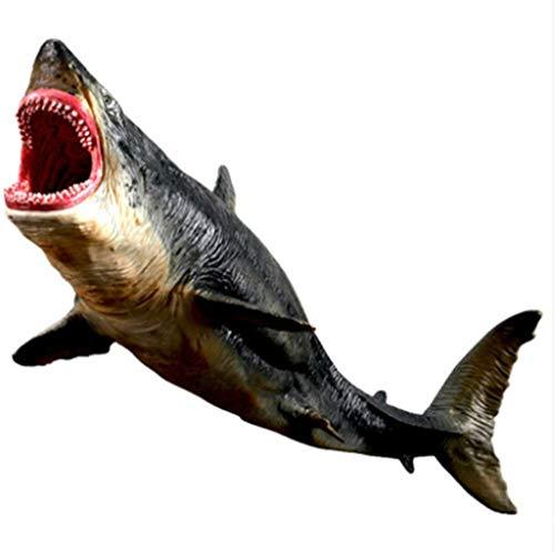 Kinder simulieren Unterwasser Kreatur Hai Arm Spielzeug Modell große Zahnhai große weißen Hai Kannibalhai Modell