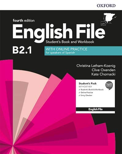 English File 4th Edition B21 Student's Book and Workbook without Key Pack (English File Fourth Edition)