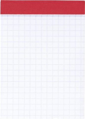 20 x Brunnen Notizblock A7 kariert 50 Blatt perforiert
