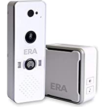 ERA W - Timbre de vídeo para cámara de fotos Smart Home WiFi, color blanco