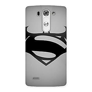 Special Grey Vs Back Case Cover for LG G3 Mini