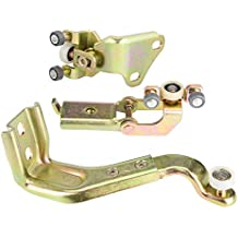 KIMISS Kits de guías de rodillos para puertas corredizas para automóviles [Polea superior izquierda puerta