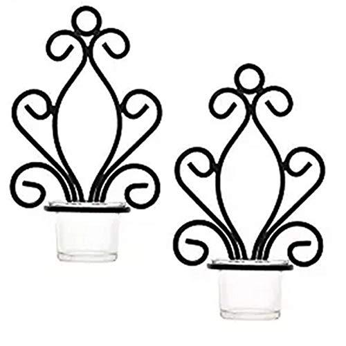 JiaHan - Soporte de Pared para Velas Decorativas para decoración del hogar,...