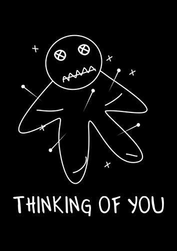 Notizbuch: Voodoo Puppe Nadeln Rache Lustiges Geschenk Shirt 120 Seiten, A4, Liniert, Tagebuch