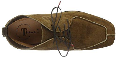 Think! Herren Guru Desert Boots Braun (HAZEL 49)