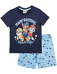 86e9140a6bb6c La Pat  Patrouille Pyjama Court Enfant garçon Marine Bleu de 3 à 8ans
