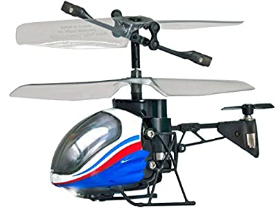 Silverlit Nano Falcon - Smallest 3-Channel I/R Remote Control Helicopter In The World (Assorted Colours)