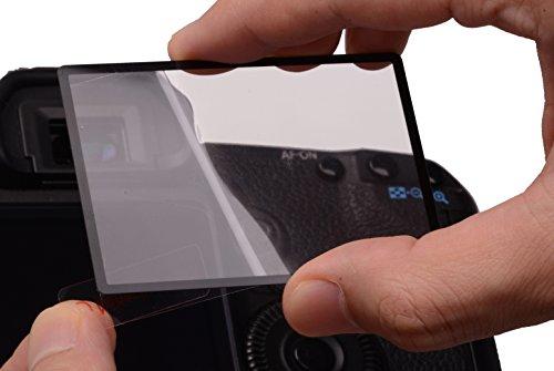 Rollei Profi Displayschutz für Sony RX 100/II/III (Touchscreen, Schwenkbildschirm, kratzfest/bruchsicher/stoßfest)