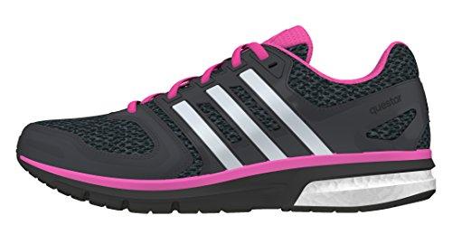 adidas questar w - Joggingschuhe - Damen, Schwarz