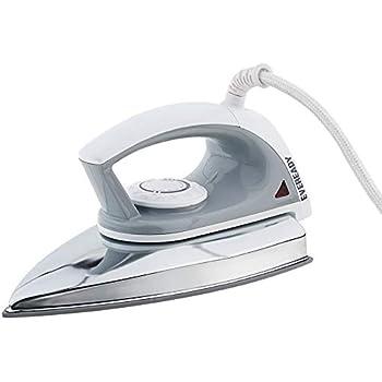 Eveready DI230 750-Watt Iron (Black/White)