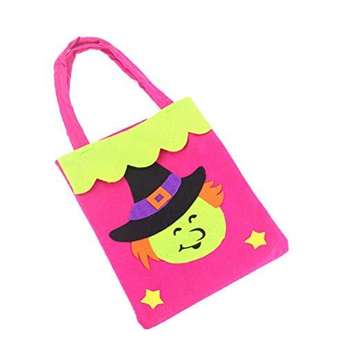 fpengfashion Halloween Taschen Kürbis Nichtgewebte Spinnensüßigkeit Geschenk Umhängetasche