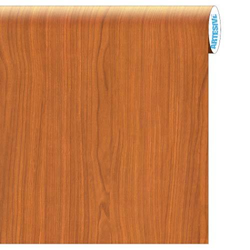 Artesive WD-054 Betulla Chiaro larg. 122 cm AL METRO LINEARE - Pellicola Adesiva in vinile effetto legno per interni per rinnovare mobili, porte e oggetti di casa
