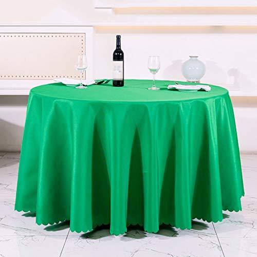 Hotel Restaurant Restaurant européen, nappe, nappe en tissu polyester enduit, conférence, rectangulaires 47,24 * 62.99cm nappe en papier peint tissu Table Table nappes couvercle ( Couleur : Vert )