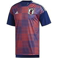 adidas Rusia de Home Pre Match Camiseta, todo el año, hombre, color Red/Poblue, tamaño medium