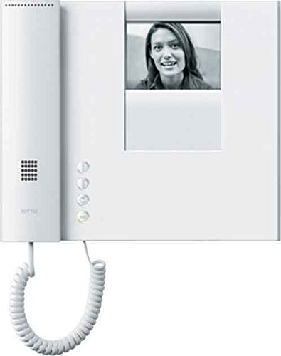 Ritto 1781770 Lens Video Intercom B/W White