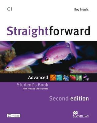 [(Straightforward Second Edition Student's Book + Webcode Advanced Level)] [By (author) Roy Norris] published on (January, 2013)