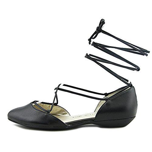 Anne Klein Ottilia Femmes Cuir Chaussure Plate Black