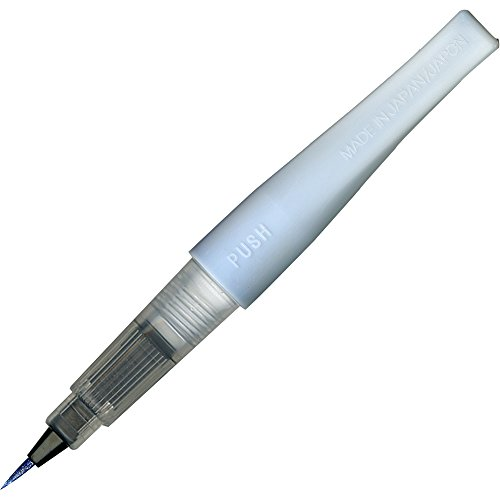 Kuretake ZIG glitter Fude Brush Pen, Wink of Stella Brush, glitter, blu (DAI150-030P)