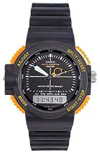 Casio - ARW-320-4 - Montre Homme - Quartz Analogique et Digitale - Altimère/Chronomère/Alarme - Bracelet Caoutchouc Noir