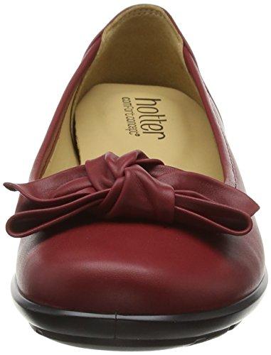 Hotter Jewel, Ballerine Donna Rosso (Red (Cherry))