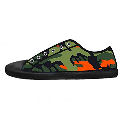 Dalliy camouflage Women's Canvas Shoes Lace-up High-top Footwear Sneakers Chaussures de toile Baskets B