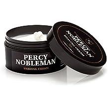 Crème de rasage par Percy Nobleman, Crème de rasage de qualité prémium 175ml / 5.9 fl.oz