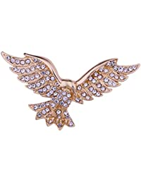 Fashion New Classic Spilla da uomo Pin Strass Eagle Spille Retro Neckpin  Animal Pins perni Distintivo 18805a0afebe