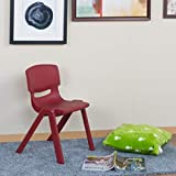 Home Centre Rosabel Kids Chair - Maroon