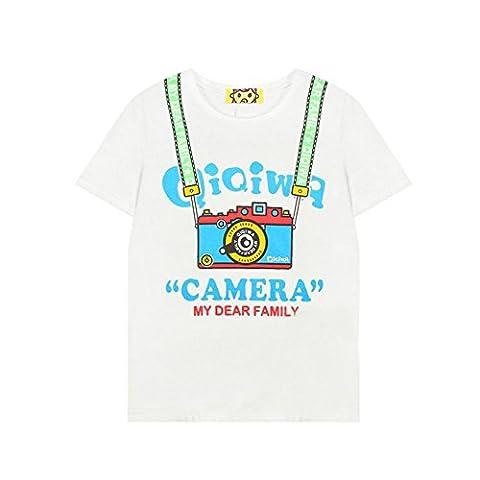 Funny Camera Junior White