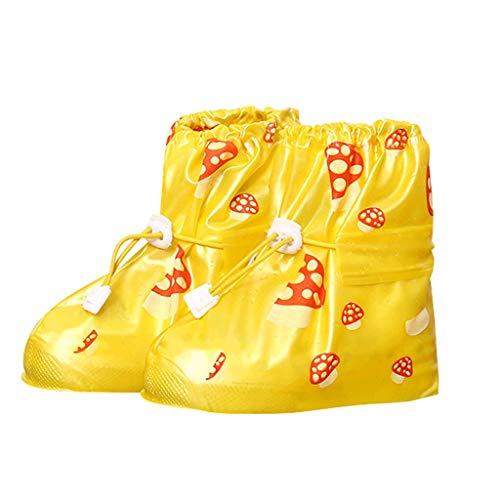 Betsy Galbraith Wiederverwendbare wasserdichte Überschuhe Überschuhe Schuhe Schutz Der Kinder Regen-Abdeckung for Schuhe Accessoires for Schuhe Regen Überschuh (Color : C, Size : L) -