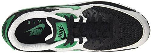 Nike Herren Air Max 90 Essential Low-Top Schwarz (Black/stadium Green-pure Platinum-white)