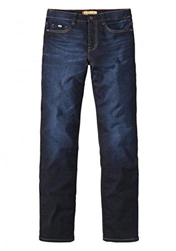 Paddock`s Herren Jeans Ranger - Slim Fit - Blau - Blue Rinse with Slightly Moust Blue Rinse with Slightly Moust (0844)