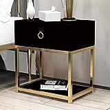 CTGM Nachttisch im nordischen Stil Wirtschaftliche Einfachheit Nachttisch Schlafzimmer Nachttisch Nachttisch Nachttisch (Farbe : B)