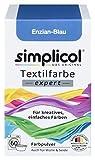Simplicol Textil Color Expert para Creativo, fácil färben, de genciana Azul 1709: Color para Lavadora o Manual färben