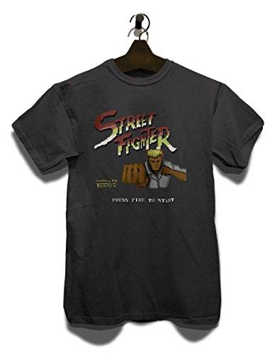 Streetfighter T-Shirt Grau