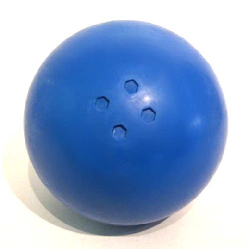 Boßelkugel Gummi blau