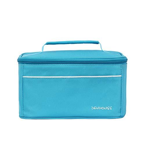 KonJin Tasche Lunch Bag Kühltasche Isoliert Thermotasche Lunch Bag für Erwachsene/Männer/Frauen/Kinder,für Büro/Schule/Picknick