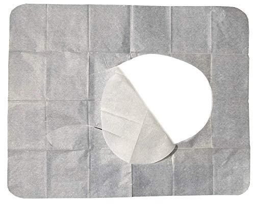 C+P 200 WC Hygiene Sitzauflagen - Papierauflagen für Toilettensitz - B-Ware -