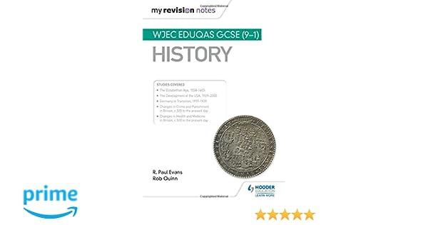 My Revision Notes: WJEC Eduqas GCSE (9-1) History: Amazon co