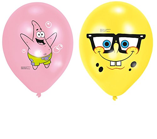Kindergeburtstag Sponge Bob LUFTBALLONS zum Kinofilm