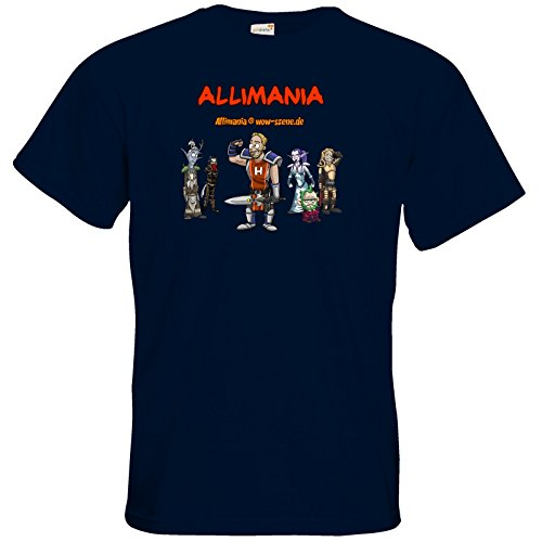 getshirts - Stevinho & Allimania - T-Shirt - Allimania Classic - Horst Navy