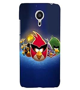 ColourCraft Amazing Birds Design Back Case Cover for MEIZU MX5