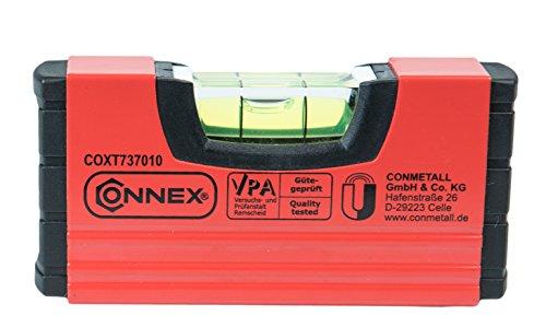 CONNEX Maßgenauigkeit bei Normallage +/- 0,5 mm/ m