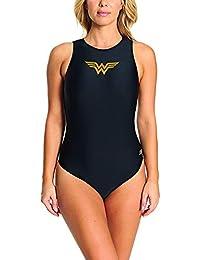e61468480 Zoggs Wonder Woman Hi Front Traje de baño de una Pieza